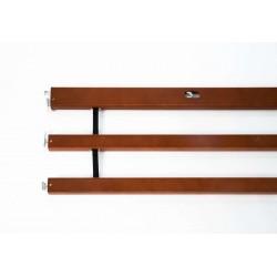 Britt V - barandillas de madera - cerezo(para cabeceros y pieceros Susanne)