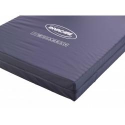 BASIC, funda impermeable azul colchón espuma cortada 88 x 195 x 14
